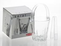 Karat Ice Bucket with Tongs