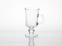Footed Mug with Bubble Stem