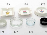 Glass & Ceramic Ashtray\'s