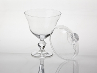 Crystal Sweetie Bowl with Lid